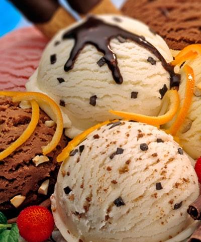 Ice Cream Home Made 100% Organic